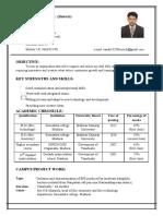 resume - asses health
