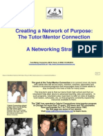Cabrini Connections, Tutor/Mentor Connection