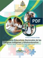 ESTANDARES EDUCATIVOS LENGUA INDIGENA Y AFROHONDUREÑA Versión 03-03-2020.pdf