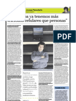 Josep Paradells (ingeniero español), PuntoEdu. 04/09/2006