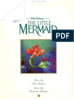 The Little Mermaid - Piano Vocal Guitar (50pg)