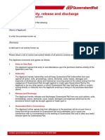 example of Deed of indemnity 2013