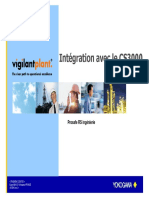 Integration avec CS3000