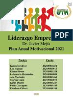 Plan anual motivacional, Liderazgo Empresarial UTH