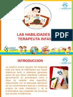 LAS HABILIDADES DEL TERAPEUTA INFANTIL