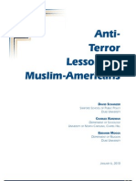 Anti-Terror Lessons Of Muslim Americans