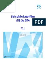 Site Installation Standard Album (TS & Colo. & FTK) V1.1