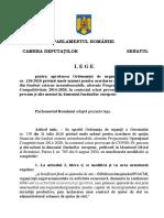 Lege Modificare OUG 130