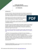 [Acupuntura, Terapias Alternativas] EFT - Claudia Giovani - Acuter API A - Curso Terapia Meridianos Energéticos (90 Pag)