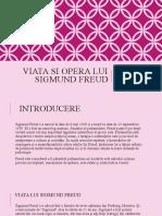 Viata Si Opera Lui Sigmund Freud