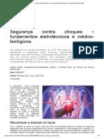 Segurança contra choques – fundamentos eletrotécnicos e médico-biológicos _ EM