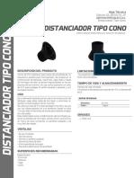 DISTANCIADOR TIPO CONO - A ESPECIALES