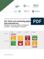 DIV 2020 und nachhaltig.digital Jahreskonferenz
