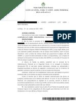 Sentencia IFE Denegado
