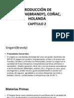 PRODUCCIÓN DE SINGANI(BRANDY),COÑAC,HOLANDAS