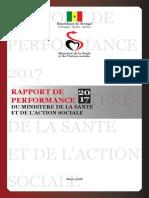 Rapport de performance 2017 - MSAS