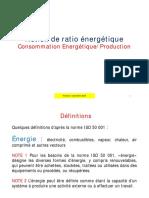 Support de cours 4 - Notion de ratio ENERGETIQUE Version 1