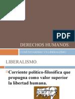 Derechos humanosliberalismo y comunitarismo