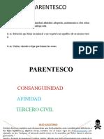 parentesco