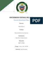 Generalidades de las Anemias (DV)