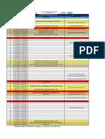 CALENDARIO ACADEMICO  2020 - 2021