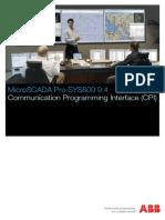 SYS600_Communication Programming Interface