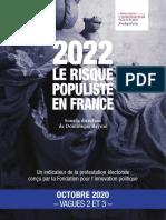 Fondapol Enquete 2022 Risque Populiste Vagues 2 Et 3 2020 10