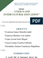 INTERCULTURAL EDUCATION (SLIDES)