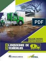 Guía de Buenas Prácticas Medioambientales para Lavaderos de Vehículos