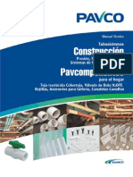manual construccion pavco