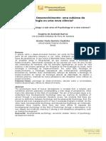 Psicologia do Desenvolvimento-Subarea da psicologoa ou nova ciencia