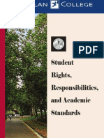Gavilan College Student Rights Responsibilities Handbook