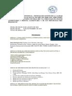 1. ESPECIALIZACION PROFESIONAL SISTEMAS DE GESTIÓN DE LA CALIDAD E INOCUIDAD HACCP, ISO 9001, ISO 22000, FSSC 22000, HARPC, ISO 31000, BRC V.8, SQF, IFS