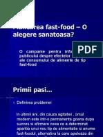 fastfood proiect