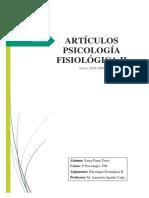 INFORME ARTÍCULOS - FISIO II