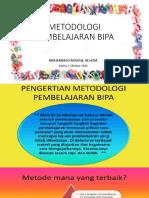METODOLOGI PEMBELAJARAN BIPA intro (1-10-2020)