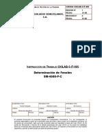 OXILAB-5-IT-005 Determinación de Fenoles