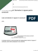 Normative in vigoare pentru constructii   CERTIFICARE A.I.C.P