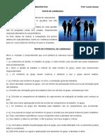 ATIVIDADE 4 - TESTE DE LIDERANÇA