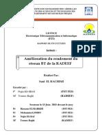 Amélioration du rendement du réseau BT de la RADDEF.pdf