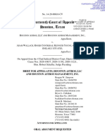 Astros Ticketholder Appeals Brief