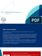V13 Softys - Protocolo Covid-19