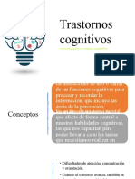 trastornos cognitivos