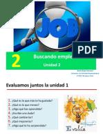 Unidad 2. Buscandoempleo PPT Nuevo