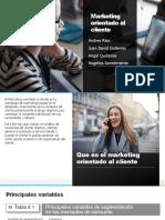 Marketing orientado al cliente