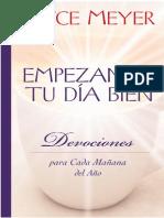 Empezando Tu Dia Bien - Joyce Meyer.pdf
