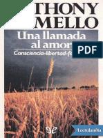 Una llamada al amor - Anthony De Mello.epub