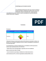 Metodología para la implementación