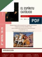 EL ESPÍRITU CATÓLICO