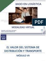 EL VALOR DEL SISTEMA DE DISTRIBUCIÓN Y TRANSPORTE